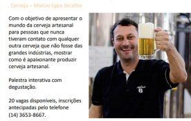 Workshop 15 de Agosto às 18h – Cerveja com Marcio Egea Secafim
